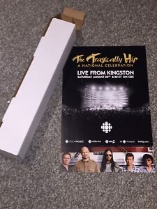 The Tragically Hip Final Concert poster SHIPPED