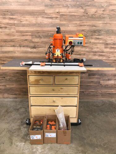 Blume M511002 Minipress Boring and Hinge Machine, Phase 3