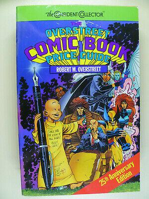 25th Anniversary Edition Overstreet Comic Book Price Guide Robert M. Overstreet