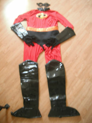 NEW Disney Store MRS INCREDIBLES Adult COSTUME XXL Ladies HALLOWEEN SuperHero