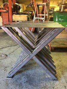Steel table legs for sale!