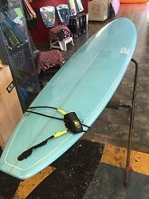 "URGENT!!! 8'4"" Baby Blue Surfboard Broadbeach Gold Coast City Preview"