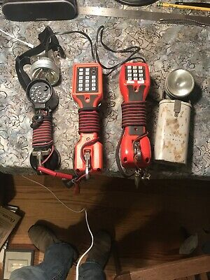 Harris Dracon Division M332-1 Phone Line Tester Bell Works Justrite Lineman Lot