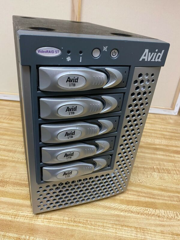 Avid 5TB VideoRAID ST Hard Drive Array