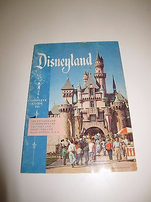 Vintage 1957 Disneyland Booklet A Complete Guide To Disney Castle Teacups Dumbo