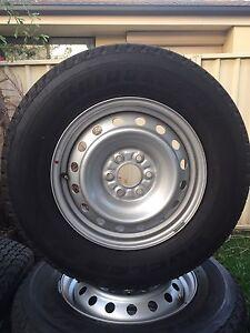 4 New Bridgestone Dueler H/T tyres Thornton Maitland Area Preview