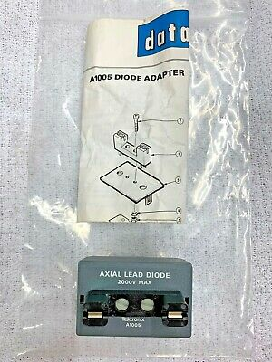 Tektronix A1005 Diode Adapter Test Fixture For Curve Tracer. New.