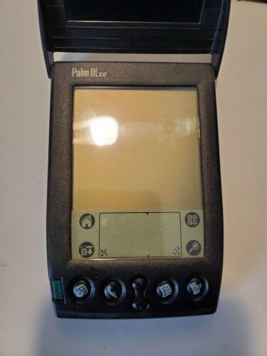 Refurbished Palm IIIxe PDA and Charging Dock