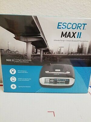 Escort Passport Max 2 Radar Laser Detector