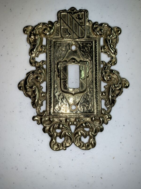 VtG Virginia Metalcrafters VM 24-17 SOLID BRASS SWITCH PLATE Cover wScrews