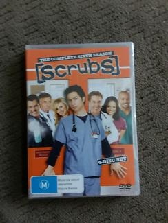 Brand new Scrubs Six, Seven and eight seasons