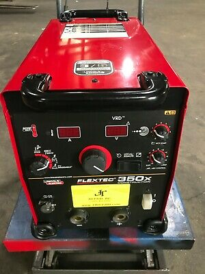 Lincoln Flextec 350x Multi-process Welder Mig Stick Tig Welding Machine