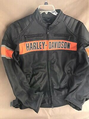 Harley Davidson Mens Mesh Riding Jacket -Large- New w/tags
