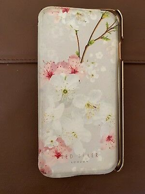 Ladies Ted Baker Iphone 8 Folio Mirror Case *see Pics*