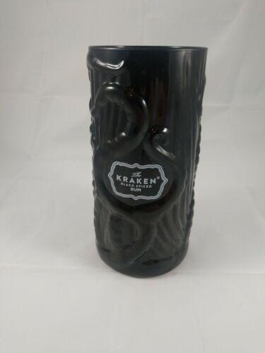 The Kraken Tiki Mug Black Spiced Rum Sturdy 3D Ceramic Octopus Cup 6x3 BRAND NEW