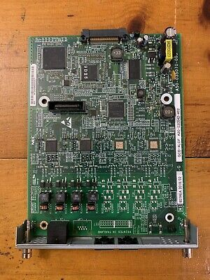 Nec Univerge Sv9100 640096 Be113434 Gcd-4lcf 4 Port Analog Station Expansion