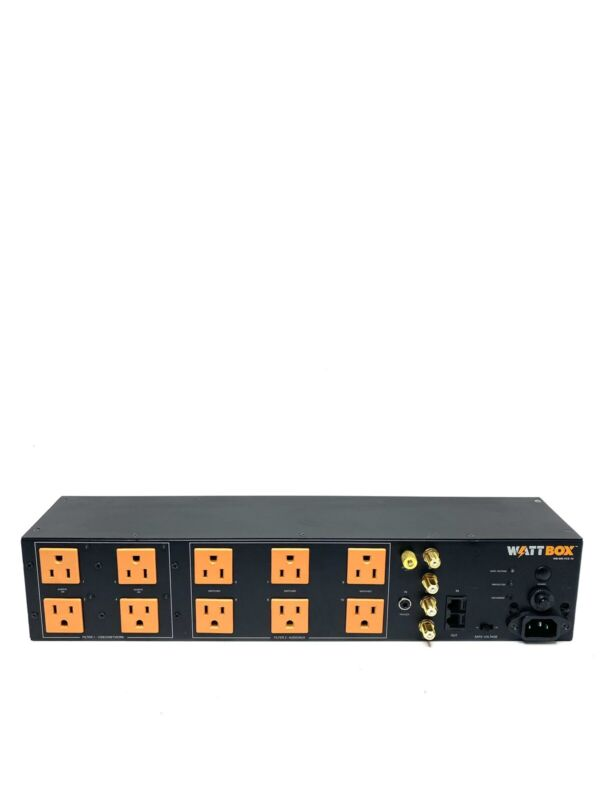 WattBox WB-600-VCE-10 10 Outlet Rack Mountable Power Conditioner