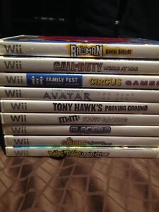 Nintendo Wii Games All for $35