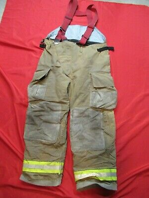Mfg. 2012 Globe Gx-7 42 X 30 Firefighter Turnout Bunker Pants Fire Gear Rescue