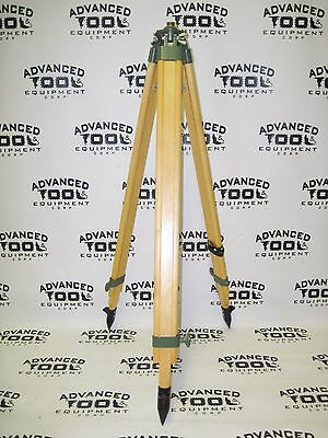 New Ate Adjustable Height Folding Wooden Survey Target Tripod