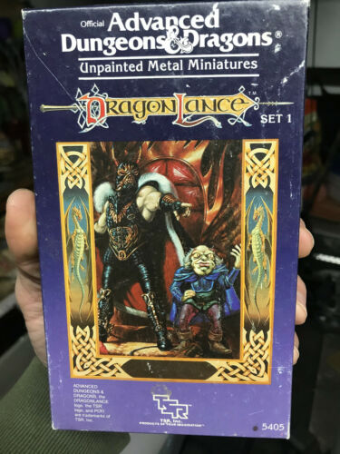 Advanced Dungeons and Dragons Unpainted Miniatures Dragon Lance Set 1 5405