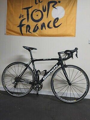 Bianchi Sempre Pro Full Carbon Road Bike 55cm (Large) Ultegra Immaculate...