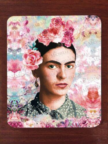 Flower Mouse Pad / Frida Kahlo Fleur Mur