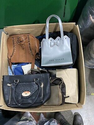 JOB LOT WOMEN HAND BAGS SHOULDER  BAGS  Wedding Purses SOME NICE MAKE 25KG Sack