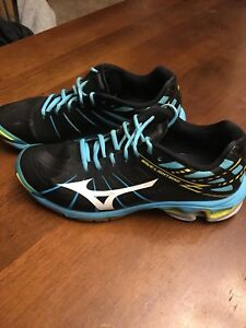 Mizuno, wave lightning, SR touch -court shoes
