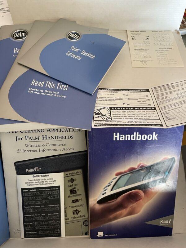 Palm Pilot VIIx Handheld PDA Pocket Organizer Wireless Internet Tested & Works