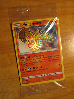 SEALED Pokemon SHINING HO-OH Card BLACK STAR PROMO Set SM70 Elite Trainer Box