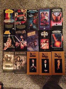 VHS Tape Collection