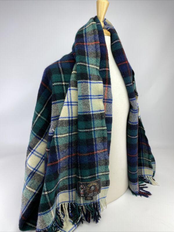 Glenfiddich Wool Blanket Dress MacKenzie Tartan Plaid Onehunga Woolens 52x66