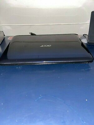 Aspire One NAV50 Netbook-1GB-RAM-32 bit-160 GB HDD+Charger w/ windows 7 Pro-NAVY