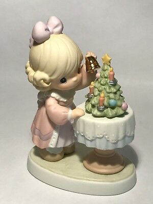 Precious Moments Figurine 'May Your Days be Merry and Bright' Christmas