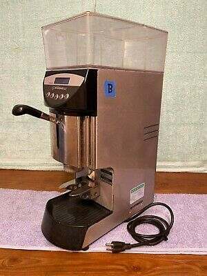 Lotb Used Nuova Simonelli Mythos Plus Coffee Grinder - Made In Italy