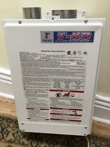 $500!  TANKLESS WATER HEATER