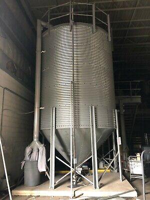 Eagle 12w X 20t Plastic Pellet Granuals Storage Hopper Grain Storage Bin