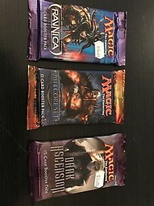 Booster pack rare from Ravnica / 2014 core set / dark ascension