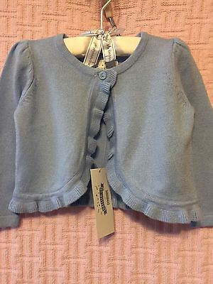 New/Tags 3 Toddler Gymboree Girl's Blue Cardigan Sweater