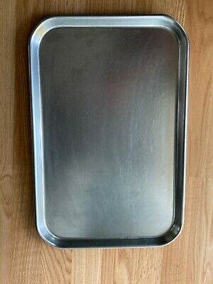 Polar Ware 19f Nsf 18-8 Stainless Steel 20ga. Instrument Medical Tray Usa
