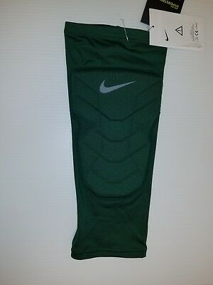 23e9c7184b Nike Hyperstrong Compression Padded Basketball Shin Sleeve 629884-341 Green  Lrg