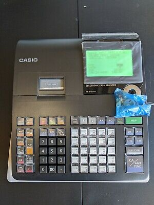 Casio Pcr-t500 Electronic Cash Register - Black New Without Box Great Reviews