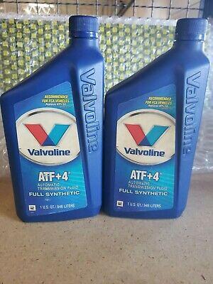 Lot of 2- Valvoline ATF+4 Full Synthetic Automatic Transmission Fluid comprar usado  Enviando para Brazil