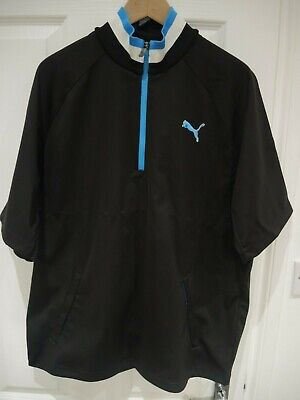 Puma Golf Short Sleeve Wind Top Size L
