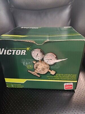 Brand New In Box Victor Acetylene Regulator Heavy Duty Sr460a-510 0781-0584