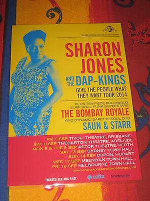 SHARON JONES AND THE DAP KINGS  -  2014  AUSTRALIAN  TOUR  -  PROMO TOUR (Sharon Jones And The Dap Kings Tour 2014)