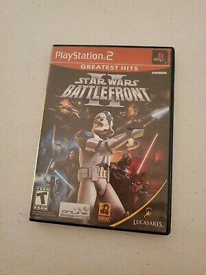 Star Wars: Battlefront II (PlayStation 2, 2005)
