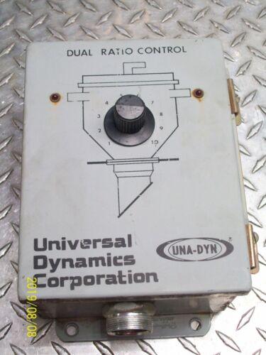 UNIVERSAL DYNAMICS DUAL RATIO CONTROL BOX UNA-DYN