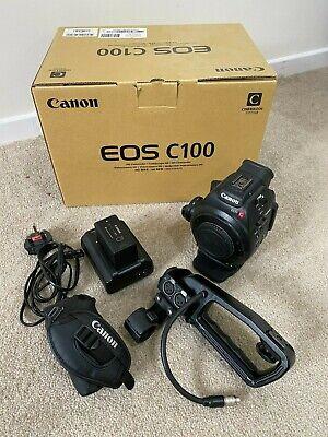 Canon EOS C100 MK1 Super 35mm Digital Film Camera Original Box & Accessories